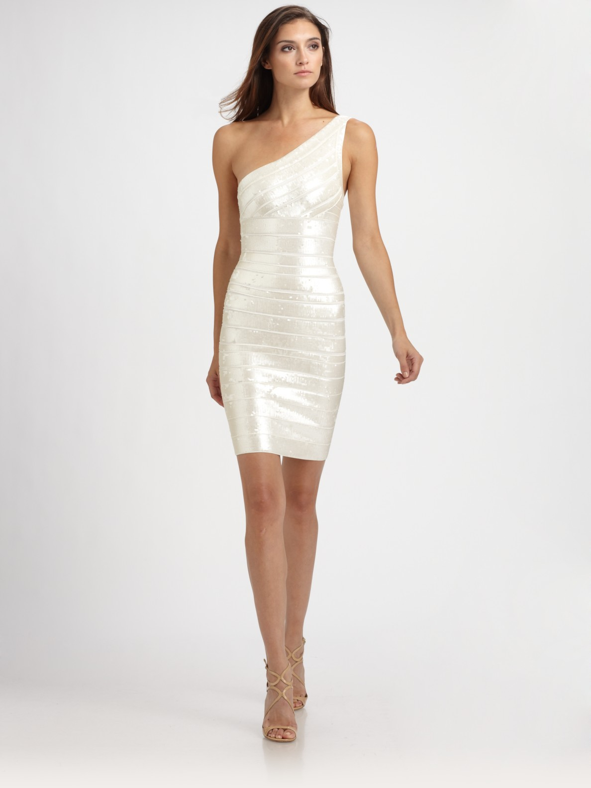 c2546667c7 White Dresses Saks At Herve Avenue Fifth Cocktail · Women's Leger Bandage  Gallery Previously Sold H8wff6