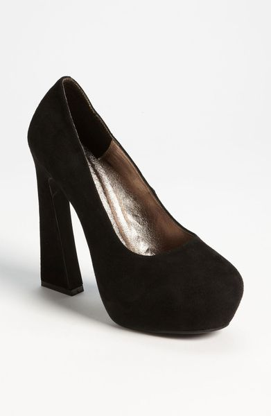 Jeffrey Campbell Eva 2 Pump in Black (black suede) - Lyst