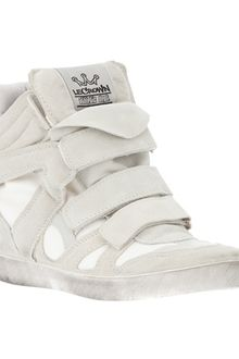 Le Crown Wedge Sneaker - Lyst