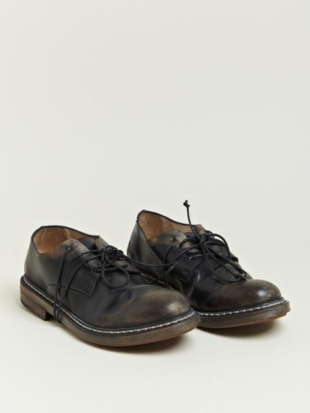marsell marsell womens culatta oxford shoes in black lyst