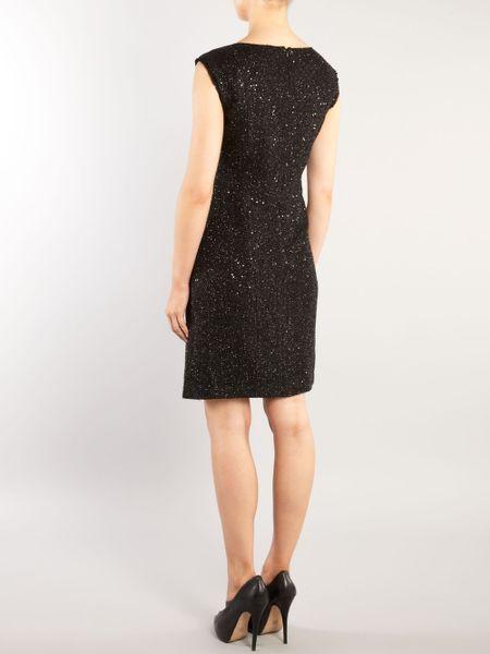 Michael Michael Kors Sleeveless Sequin Shift Dress In