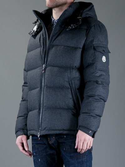 Lyst - Moncler Montgenevre Jacket in Gray for Men
