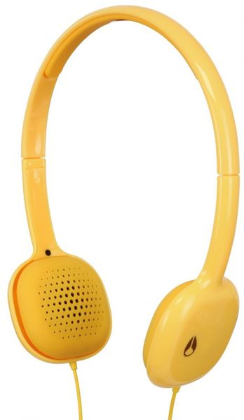 Nixon The Loop Headphones in Yellow for Men