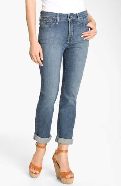 not your daughter 39 s jeans nydj boyfriend ankle jeans in. Black Bedroom Furniture Sets. Home Design Ideas