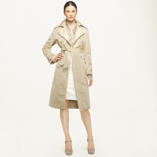 c8a2bd04 Ralph Lauren Black Label Natural Victoria Trench Coat