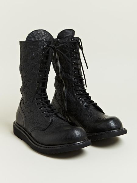 Rick Owens Rick Owens Mens Boots In Black For Men Lyst