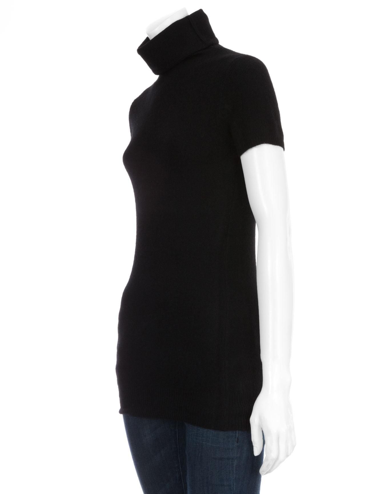 Womens Mock Turtleneck Short Sleeve Shirts