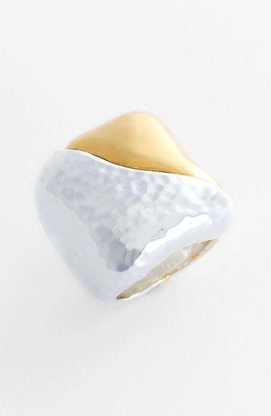 Simon Sebbag Ring in Silver (metallic silver)