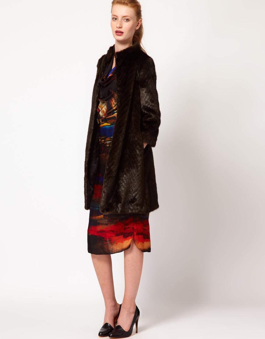 326f978dc Ted Baker Fur Coat - Tradingbasis