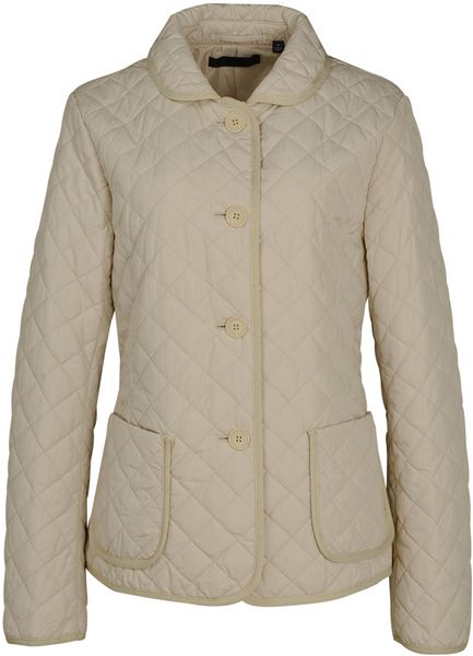 Uniqlo Women Quilted Jacket In Beige Natural Lyst