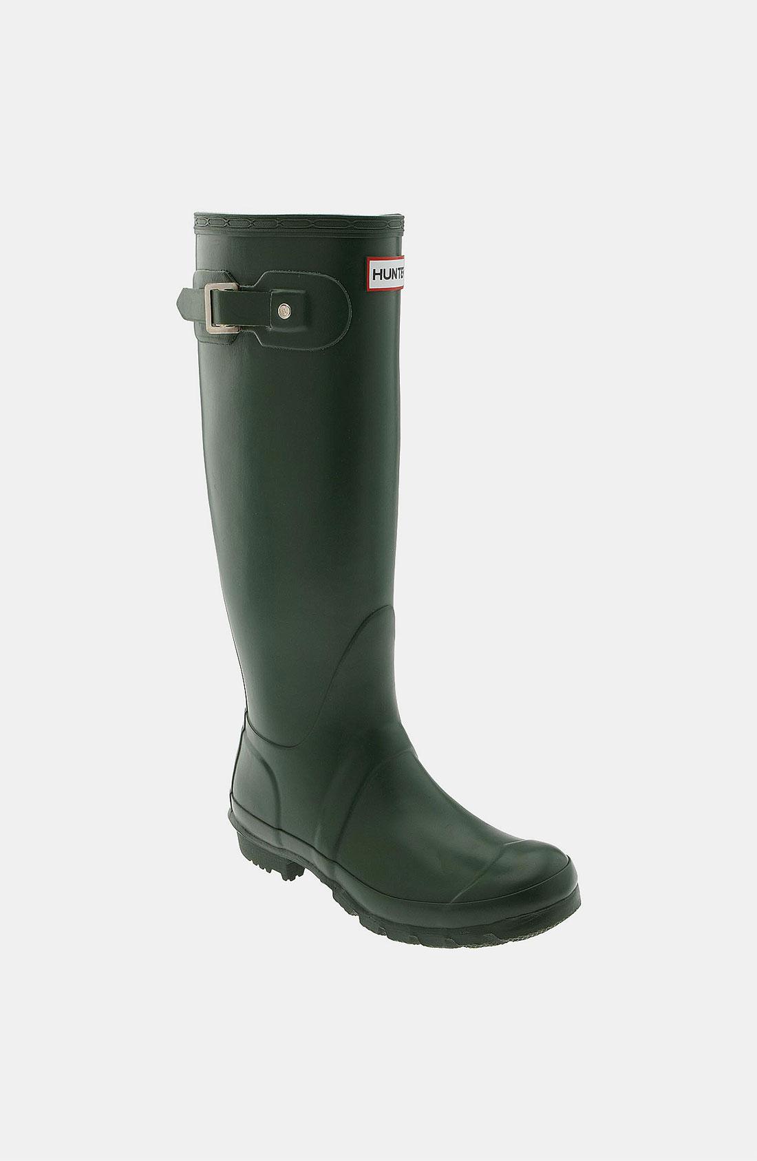 Hunter Original Tall Rain Boot In Green New Green Lyst