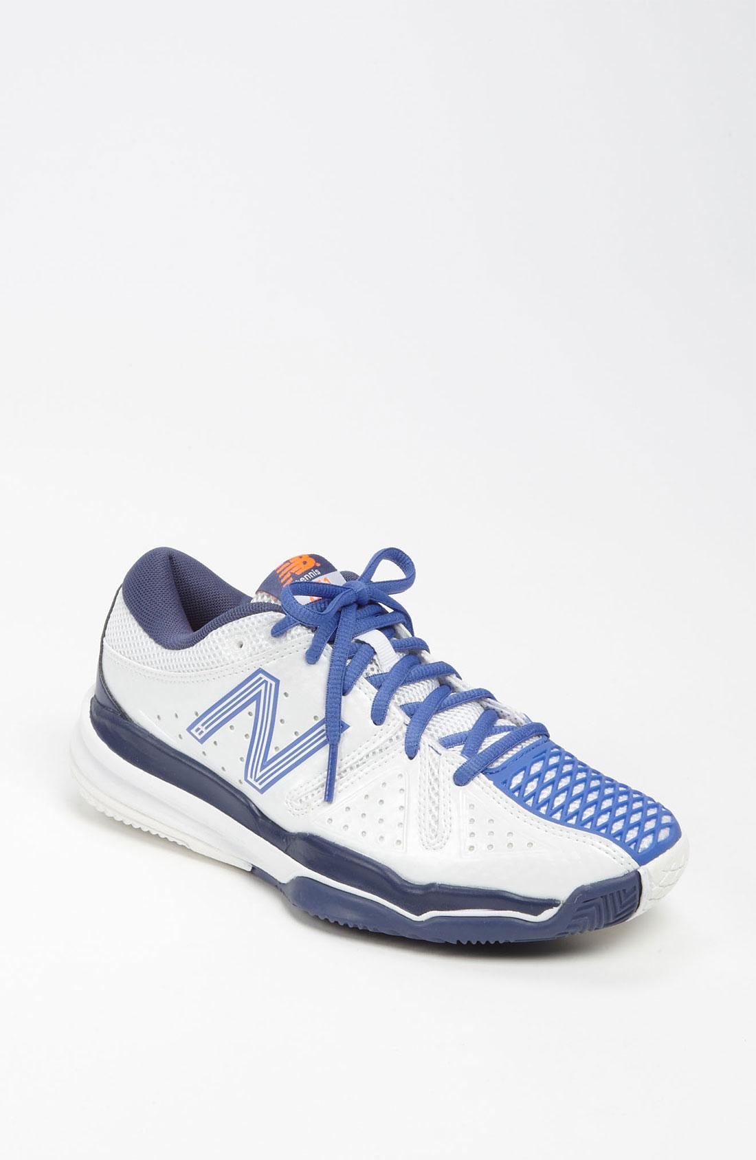new balance 851 tennis shoe in blue white white lyst
