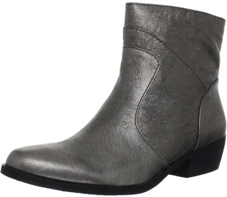Nine West Nine West Womens Bogie Ankle Boot in Gray (pewter)