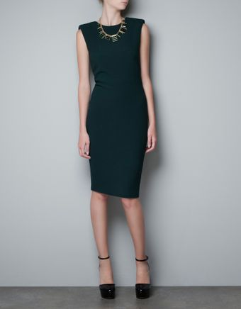 Zara Studio Dress - Lyst