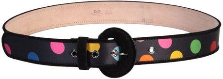 D&g Belt in Black
