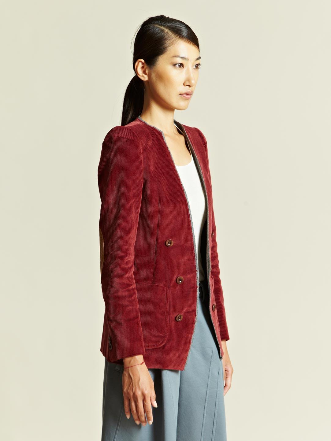 Burgundy Womens Jacket