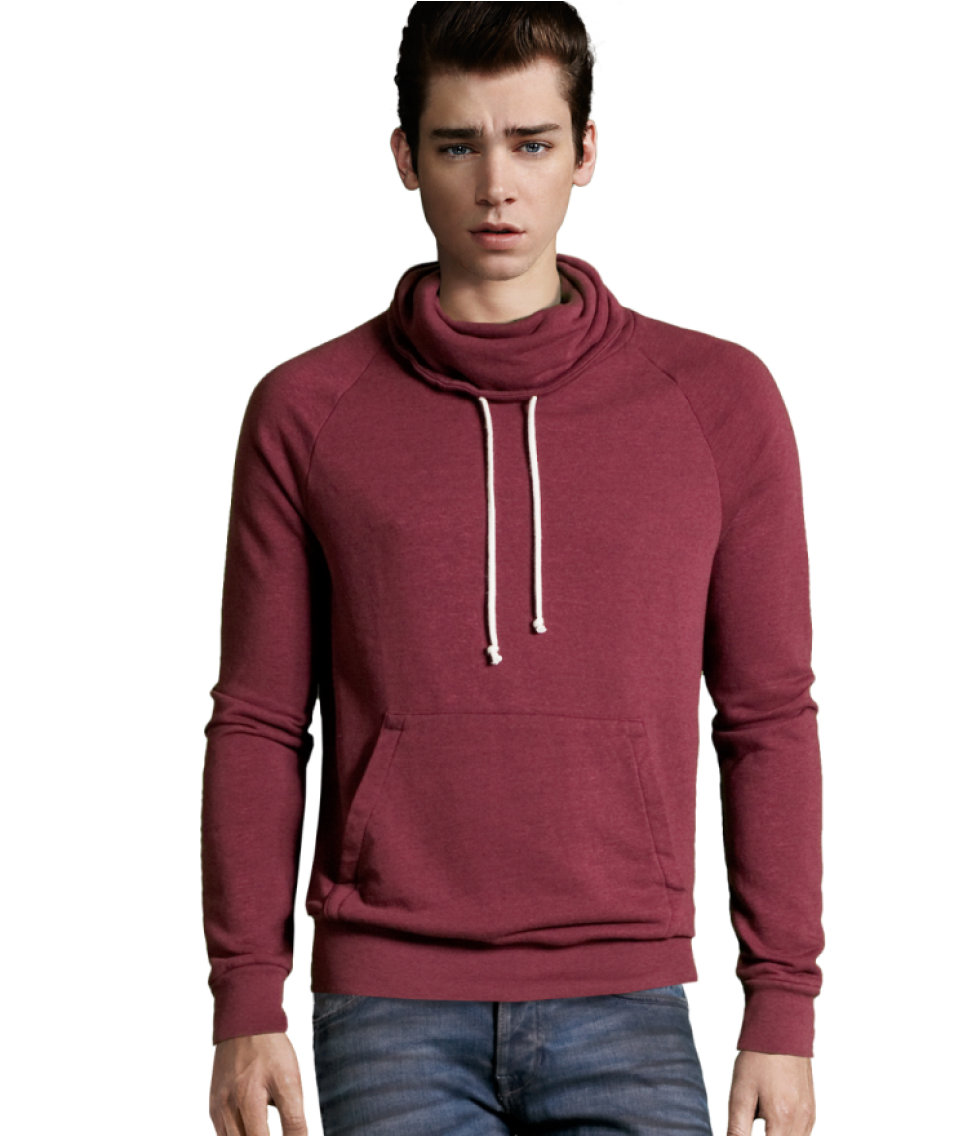 Lyst H M Sweatshirt In Purple For Men