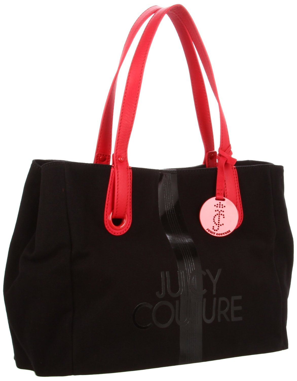 juicy couture juicy couture ever tote in black angel black lyst. Black Bedroom Furniture Sets. Home Design Ideas
