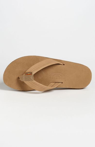 Rainbow Sandals 302alts Flip Flop In Brown For Men Sierra