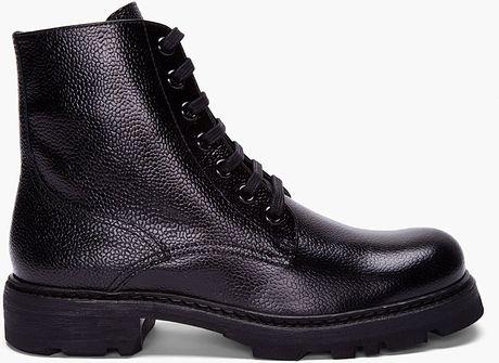 Jil Sander Black Corsaro Riso Boots in Black for Men