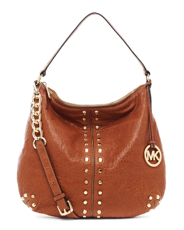 1bbc6594a201fc MICHAEL Michael Kors Uptown Astor Large Shoulder Bag in Brown - Lyst
