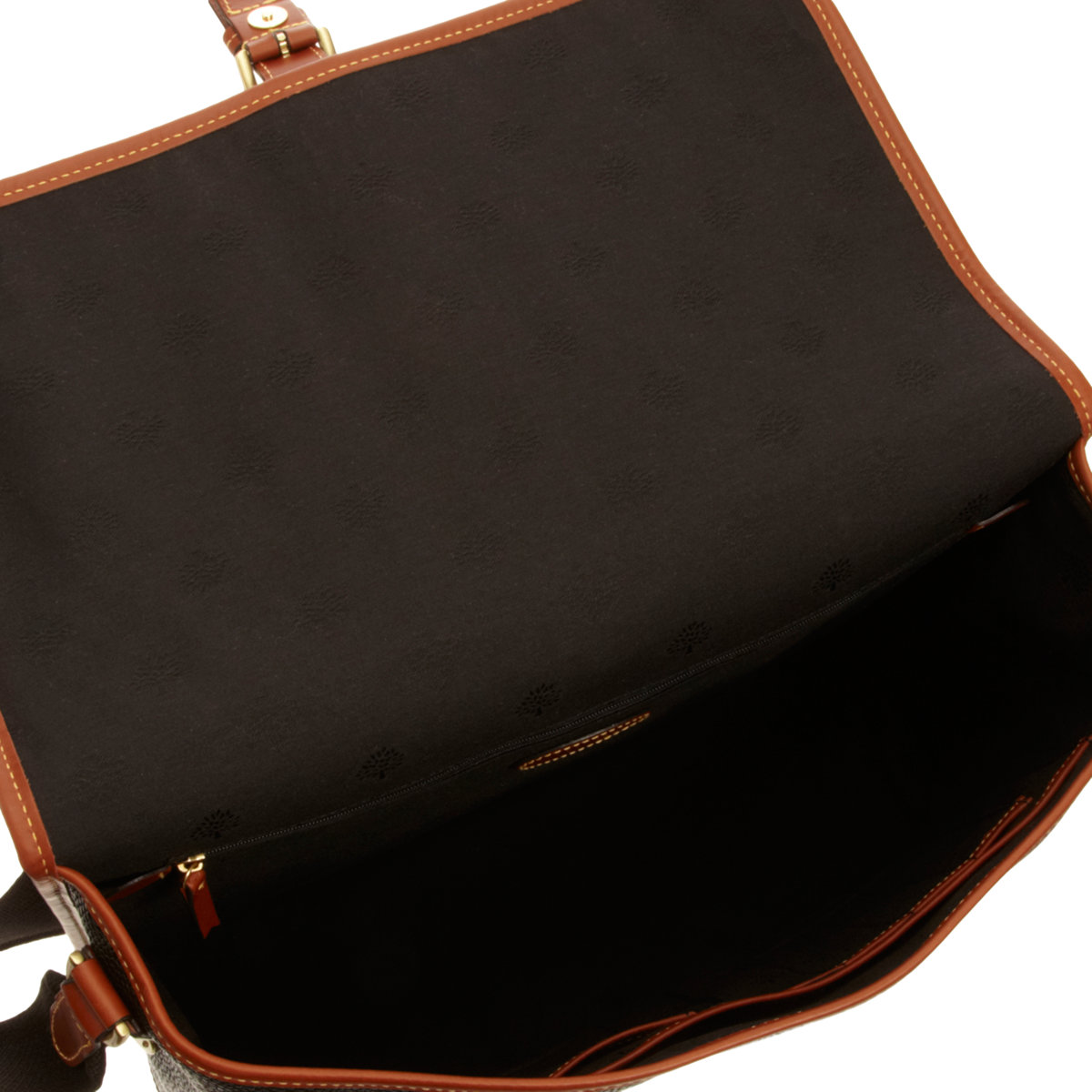 a578e8569 ... buy mulberry scotchgrain messenger bag in black for men lyst 881fe 4f45f