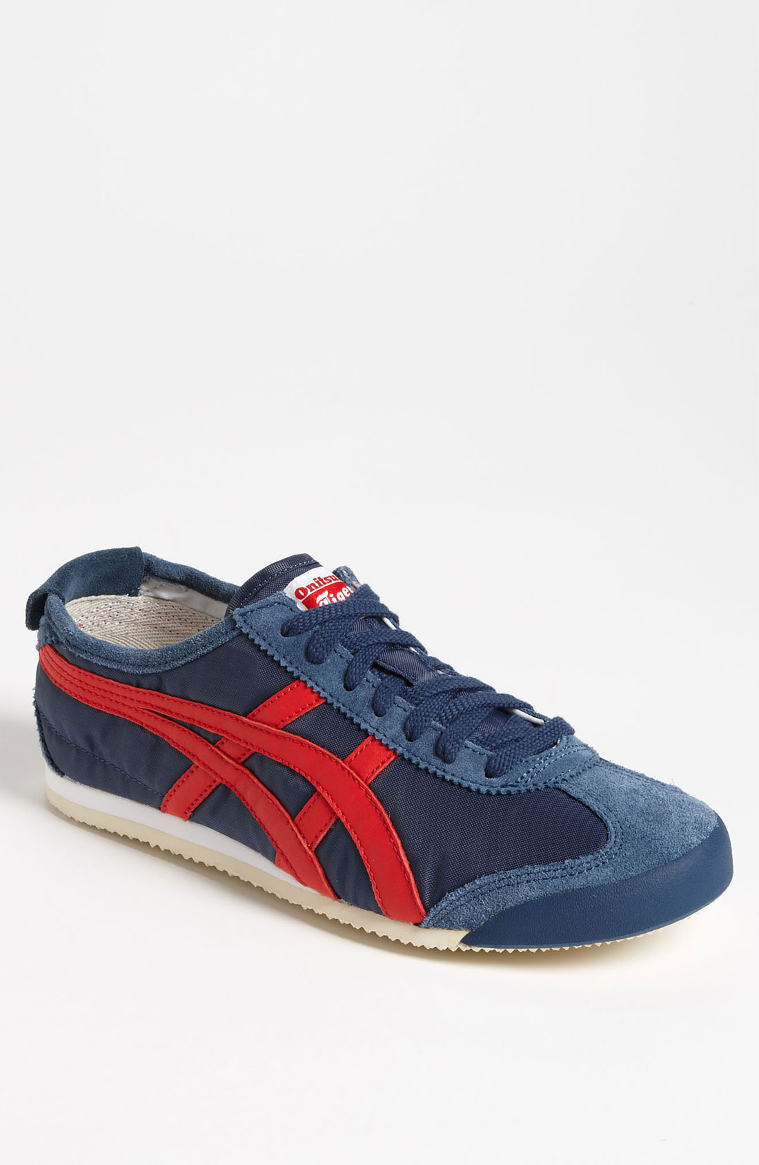 onitsuka tiger mexico 66 sneaker in blue for men navy. Black Bedroom Furniture Sets. Home Design Ideas