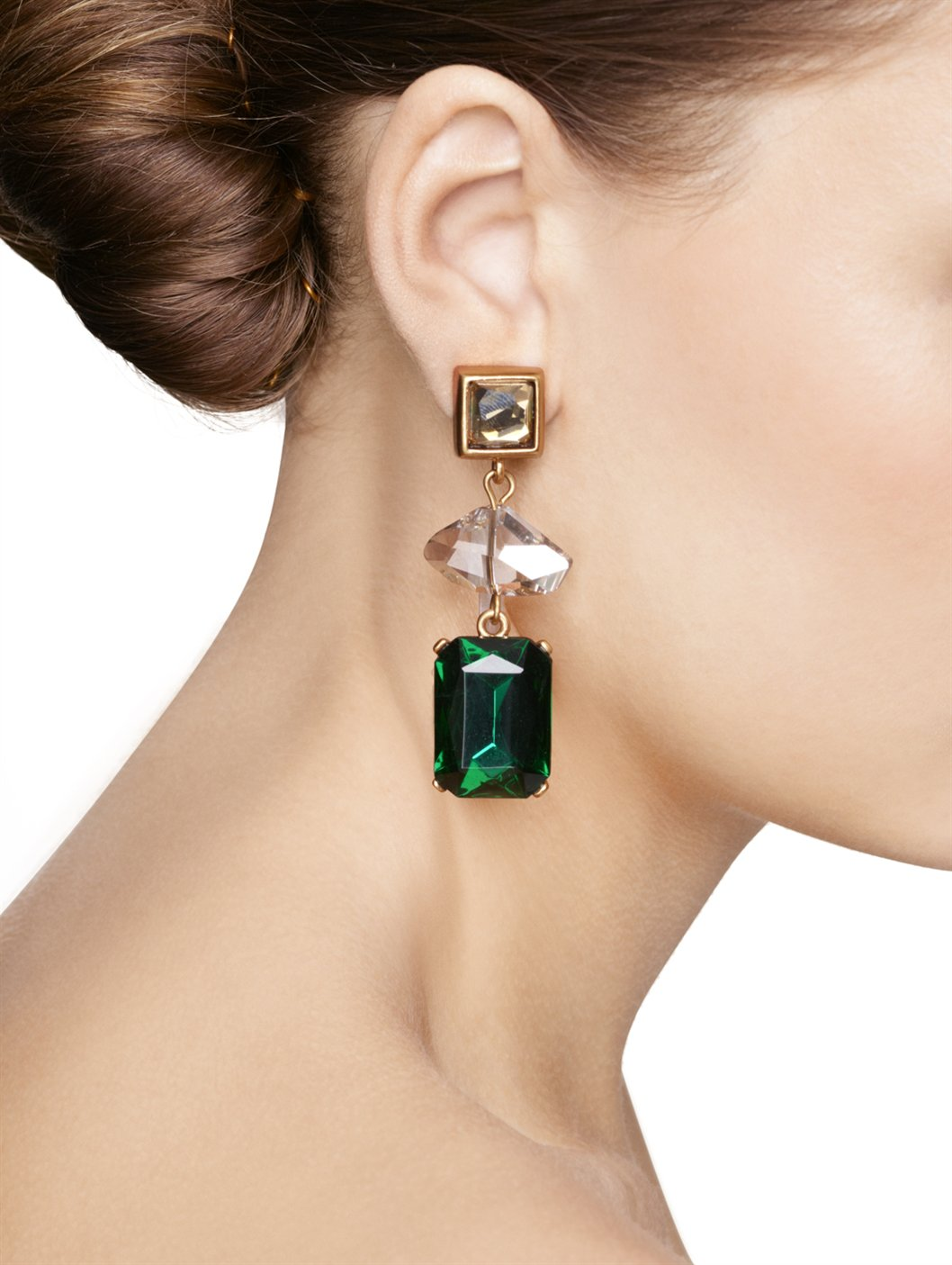 Oscar De La Renta Falling Tassel Earrings Bvde3Y0HVL