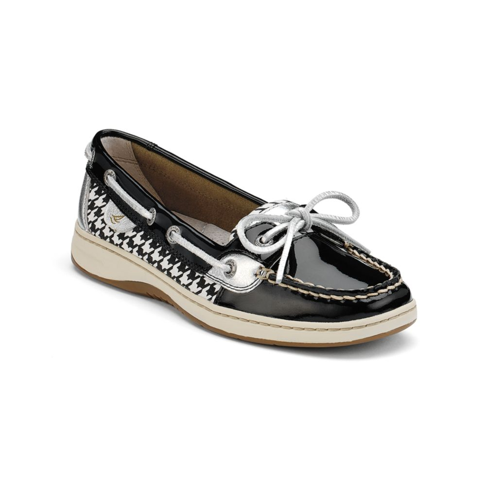 Sperry Top Sider Boat Shoes Black
