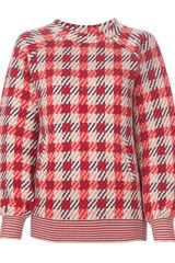 Chloé Check Oversize Sweater