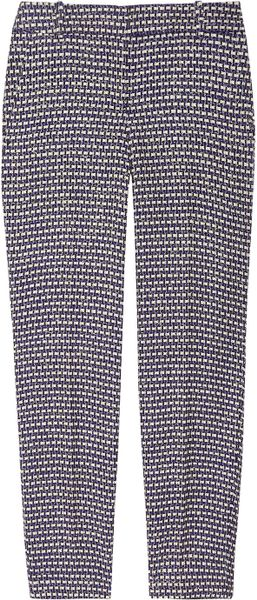 J.crew Café Silkblend Tweed Capri Pants in Gray (café)