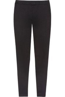 T By Alexander Wang Stretch Brocade Skinny Pants - Lyst