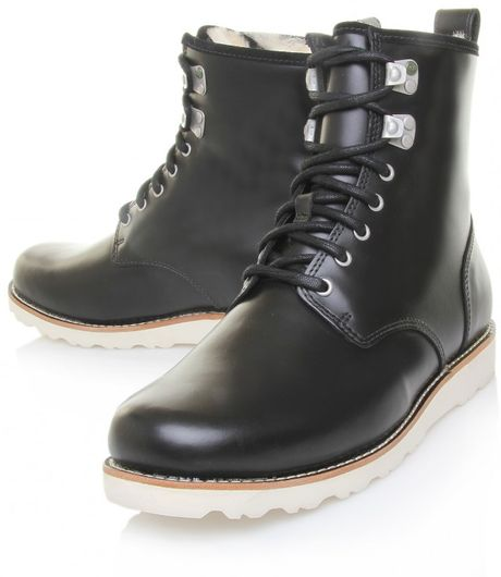 ugg men's hannen   leather