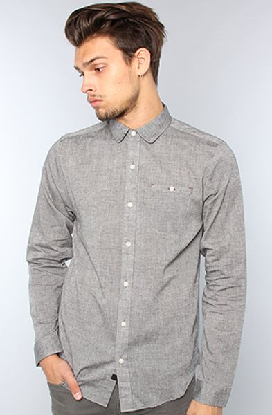 Comune The Howard Ii Buttondown Shirt in Black for Men - Lyst