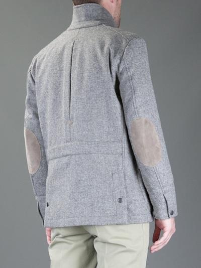 Fay Field Jacket in Grey (Grey) for Men
