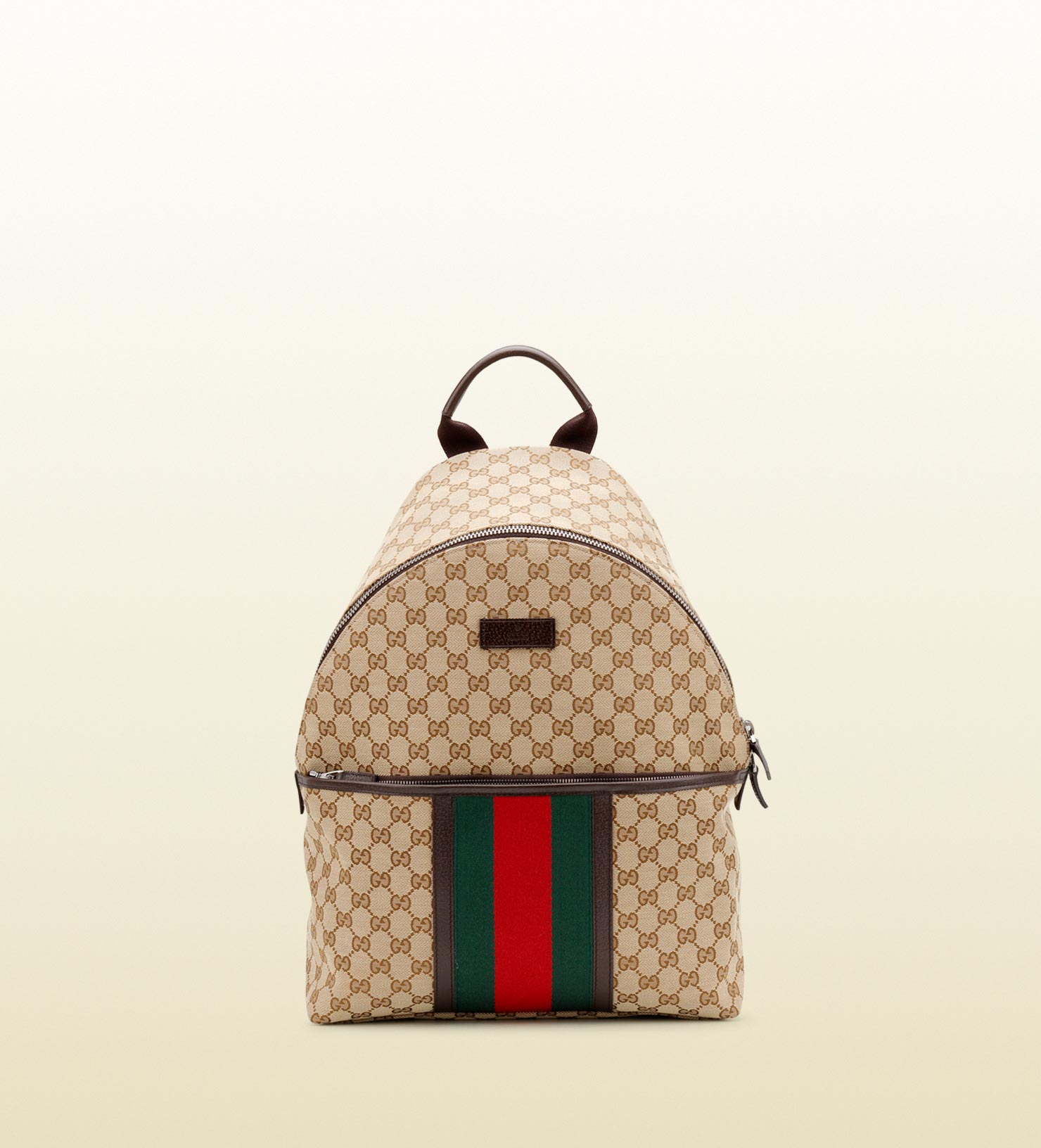 084b894791ec Lyst - Gucci Original Gg Canvas Backpack in Natural for Men