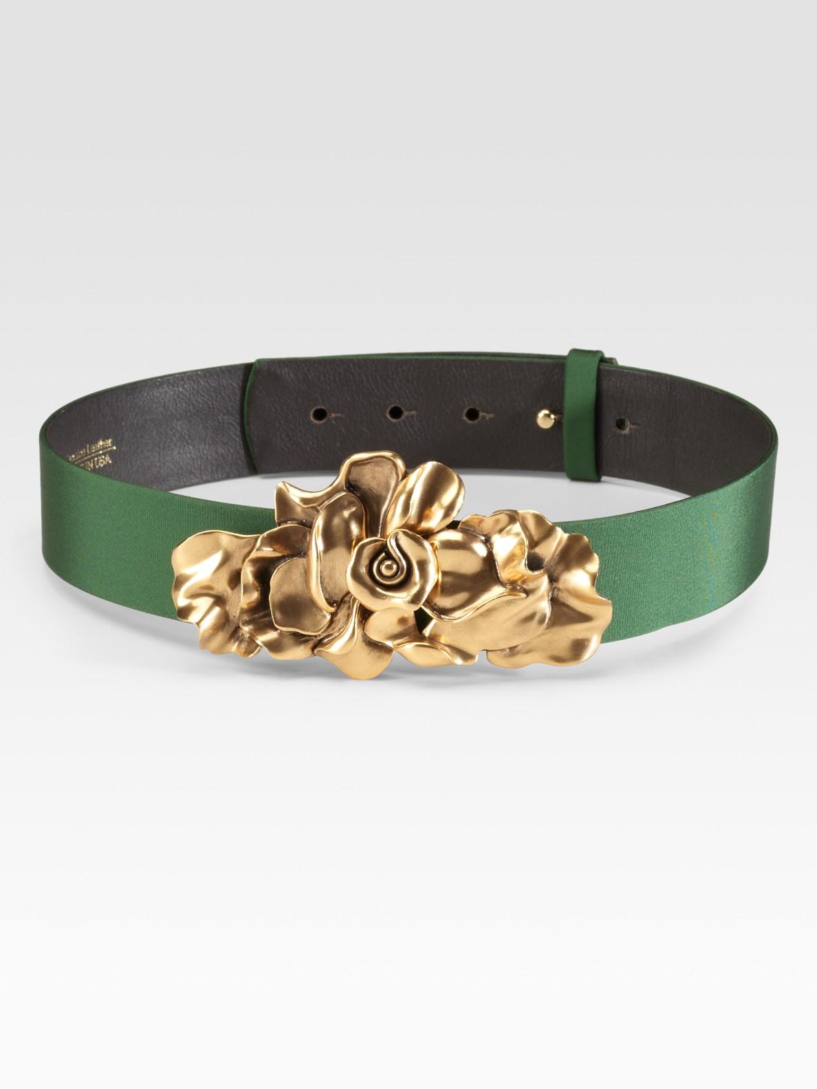 Small Leather Goods - Belts Oscar De La Renta rZdGP