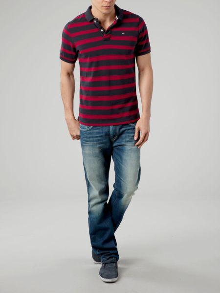 Tommy Hilfiger Striped Polo Shirt Pilot Striped Polo Shirt