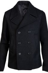 Neil Barrett Slim Fit Peacoat
