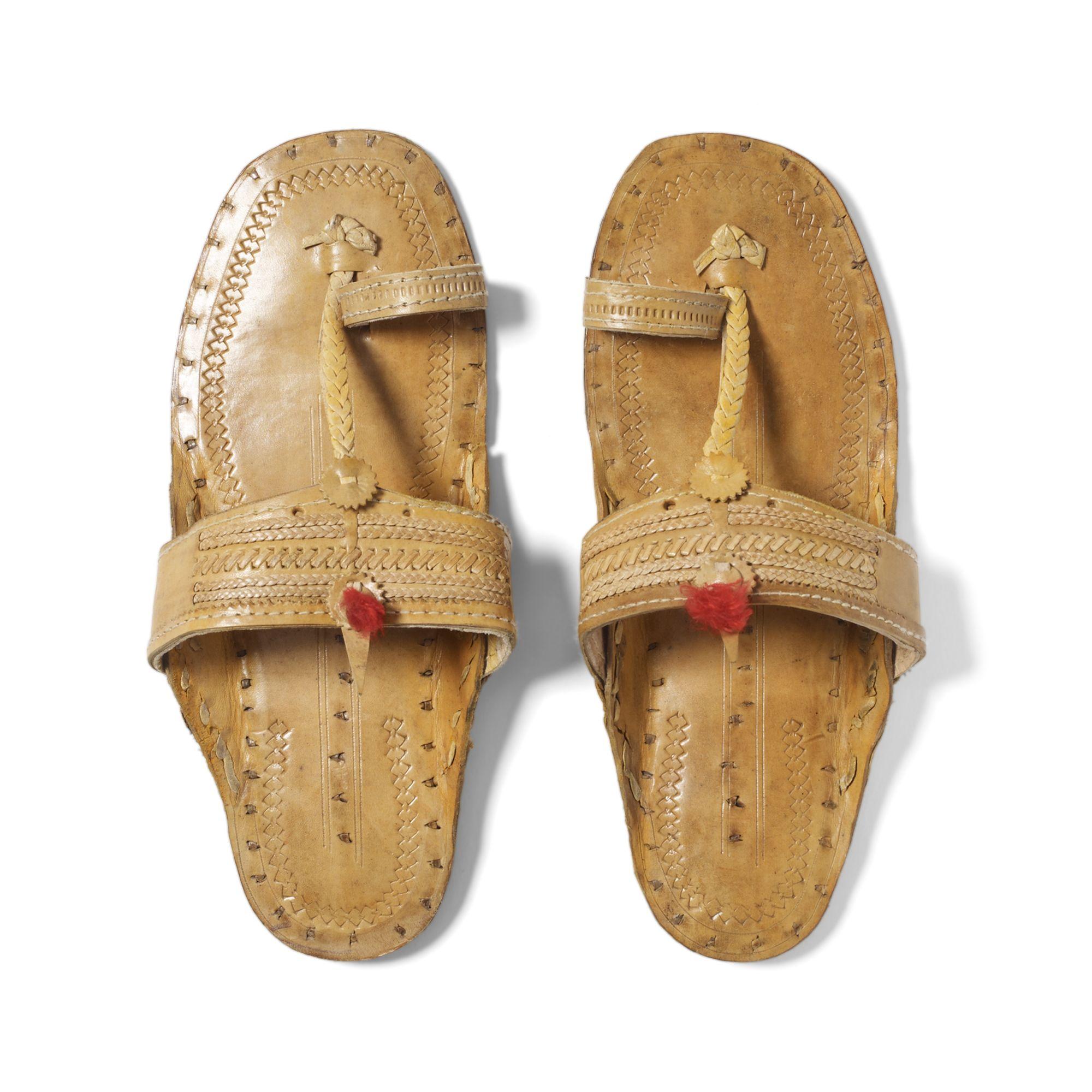 b341791d33c179 Lyst - Club Monaco Indian Sandals in Natural