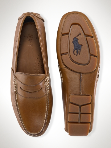 Lyst - Polo Ralph Lauren Telly Penny Loafer in Brown for Men