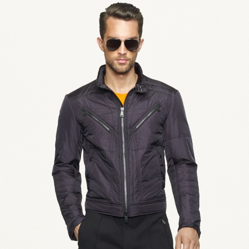 Ralph lauren black label Lightweight Flight Jacket in Black for ...