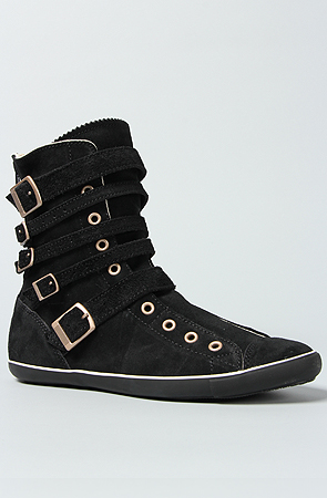 Converse The All Star Light Multi Strap Boot In Black