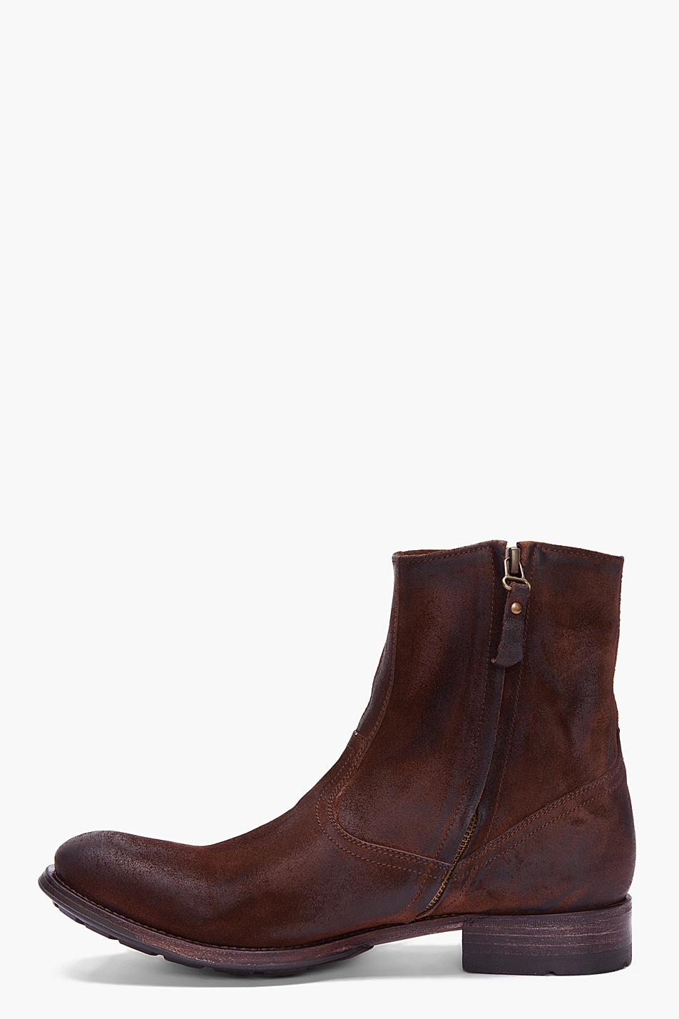 ndc espresso christopher softy boots in brown for lyst