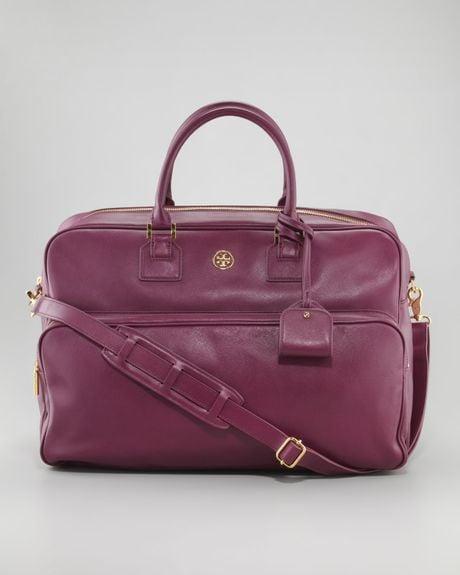 ... Saffiano Weekender Bag Pretty Violet in Purple (pretty violet