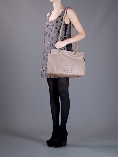 Marc By Marc Jacobs Too Hot To Handle Tote in Taupe (Brown)
