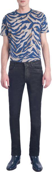 Balenciaga Slim Leg Pants in Black for Men (denim)