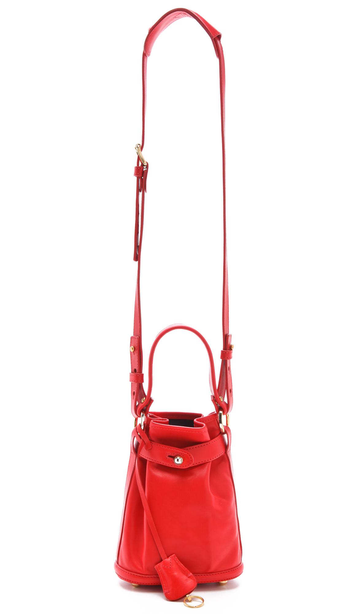 opening ceremony pop up bag in red lyst. Black Bedroom Furniture Sets. Home Design Ideas