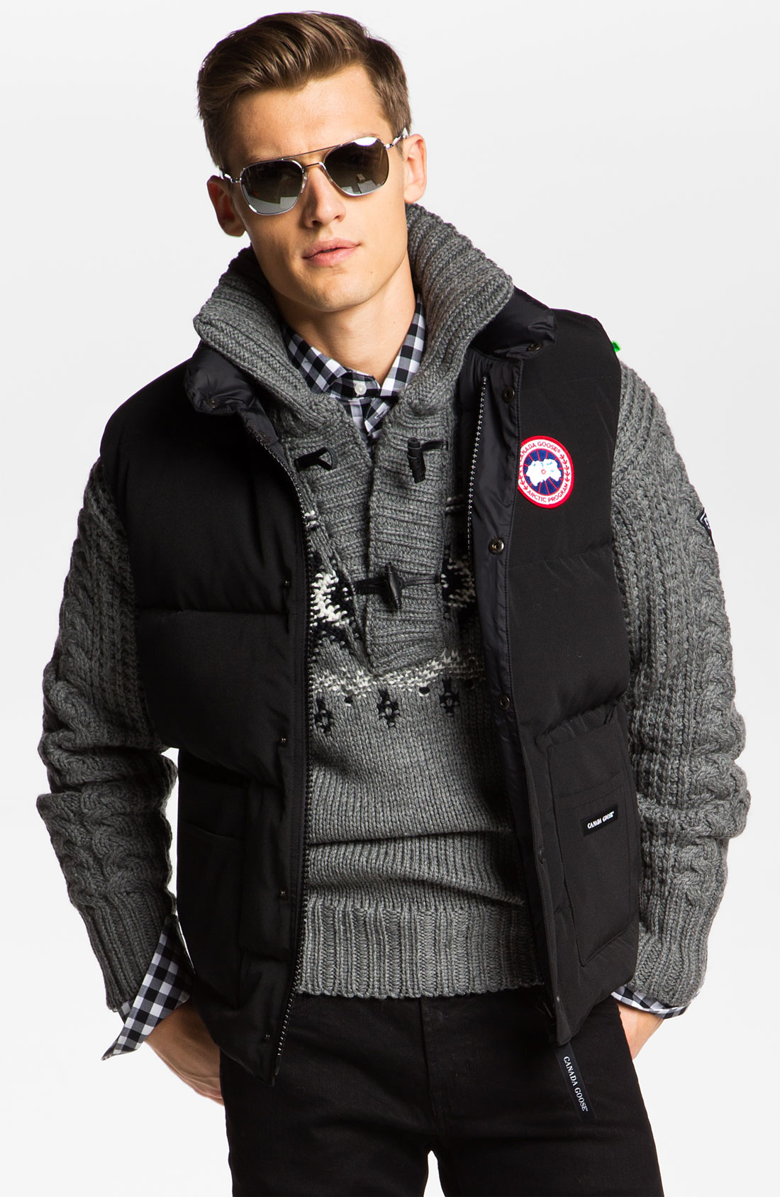 canada goose freestyle gilet mens