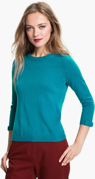 Kate Spade Arianna Sweater in Blue (jenkins blue)